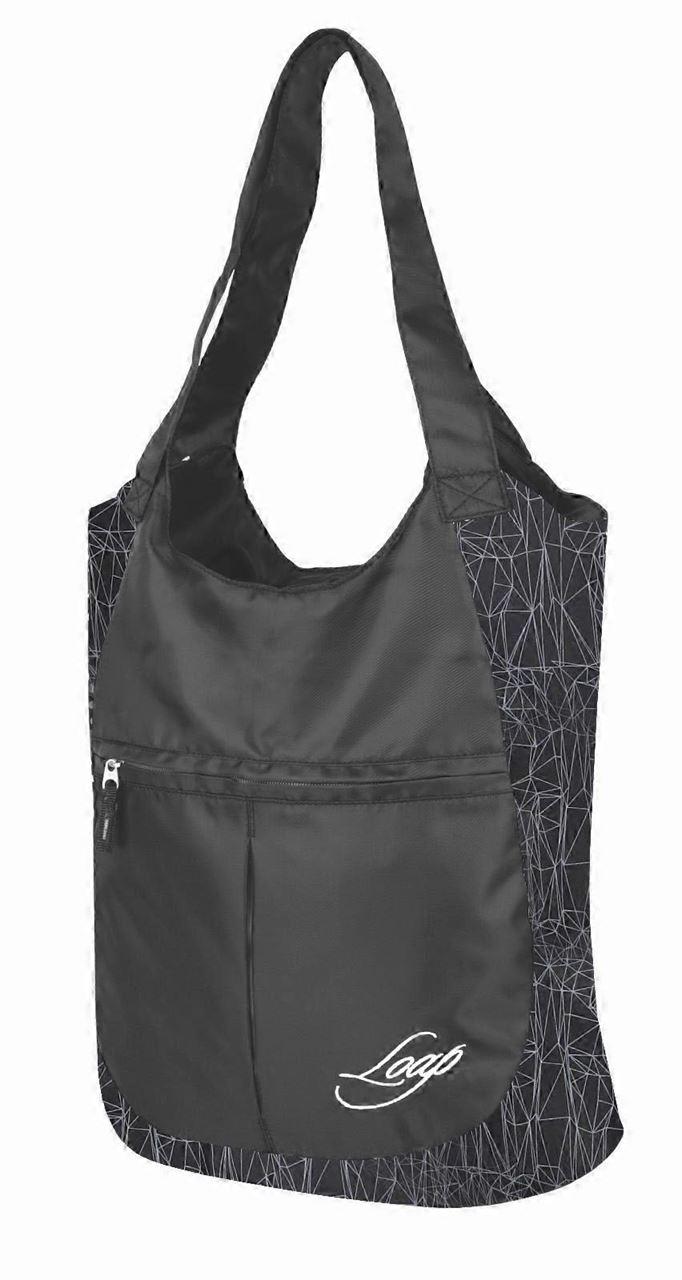 Taška přes rameno Loap Finnie - černá/šedá