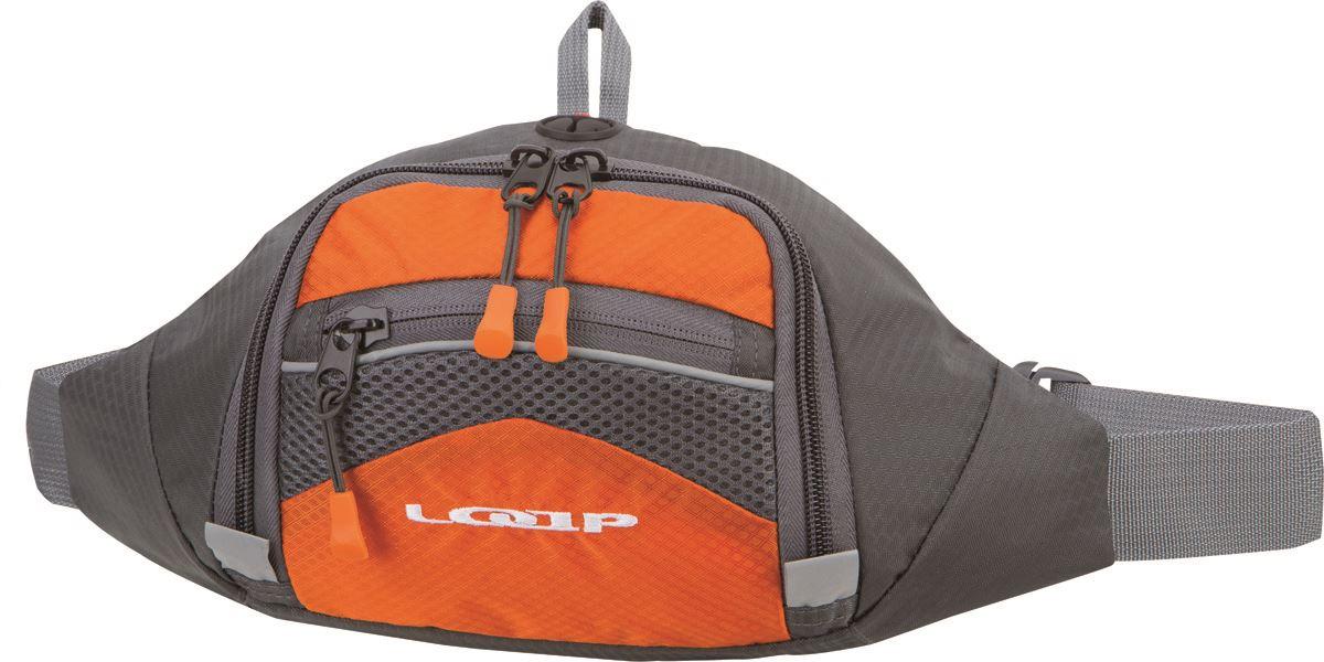 LOAP CLIP BAG Turistická ledvinka BA13126G19T red/dk.gray