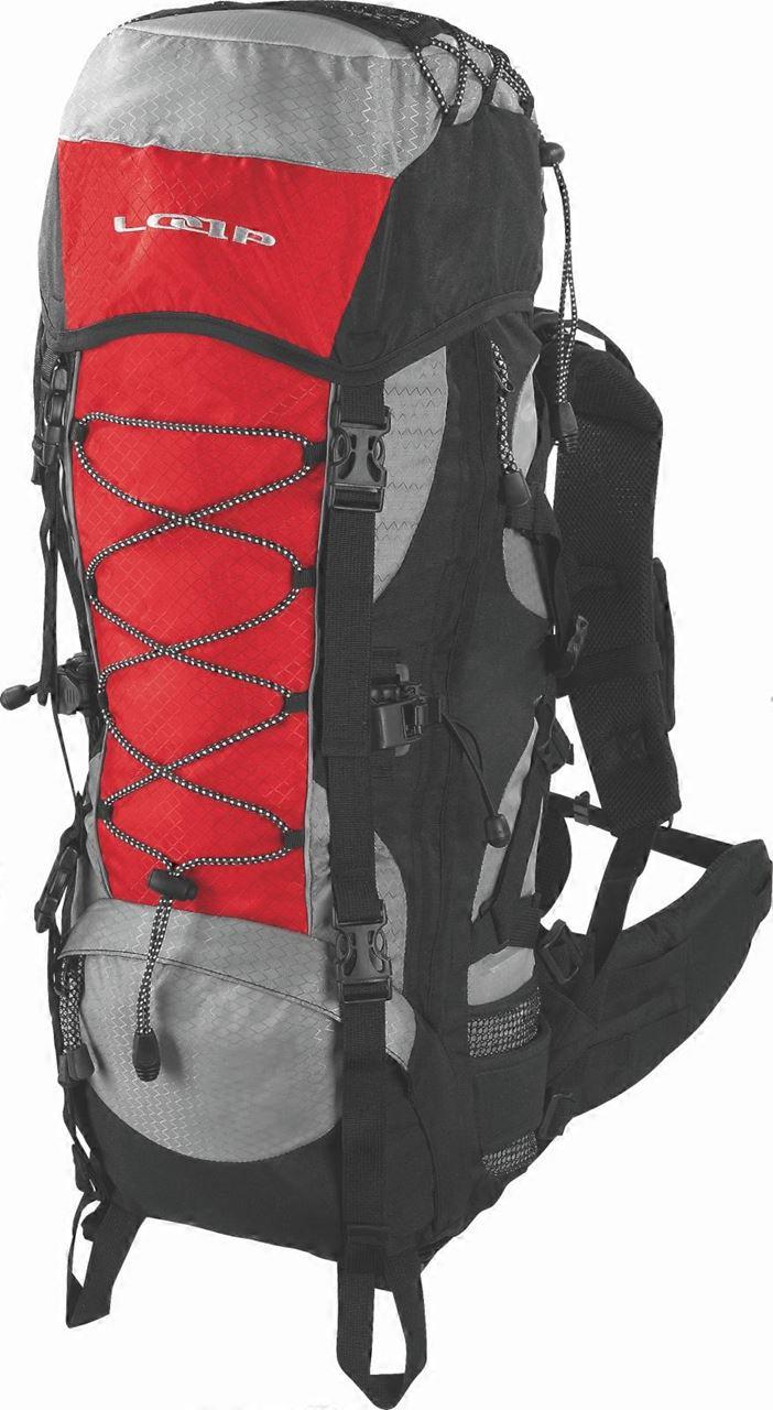 Turistický batoh MIWOK evo 50 červená
