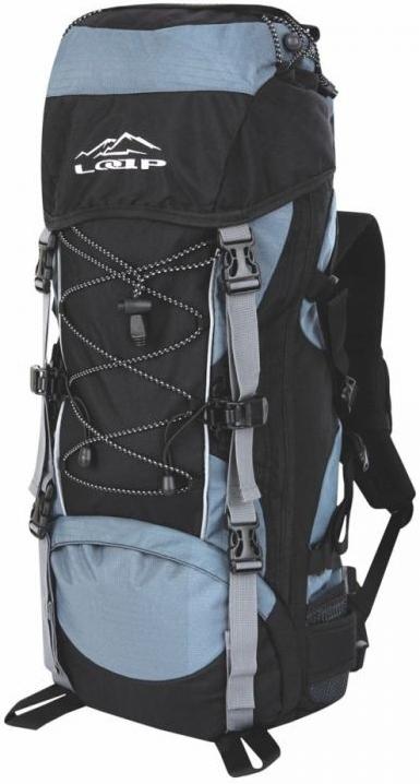 Turistický batoh EIGER 50+10 Šedá