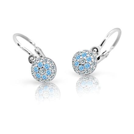 Dětské náušnice Cutie Jewellery Arctic Blue C2150-B