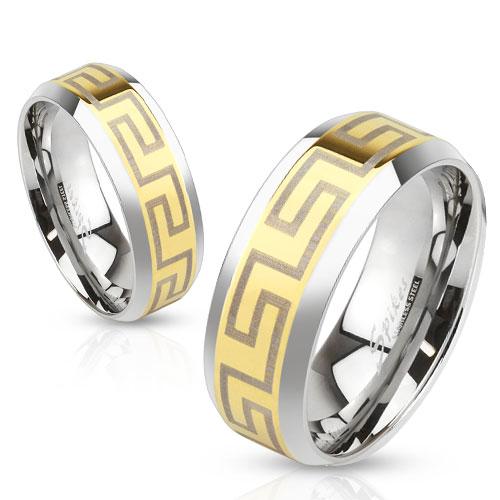 Snubní prsteny z chirurgické oceli R-M3649