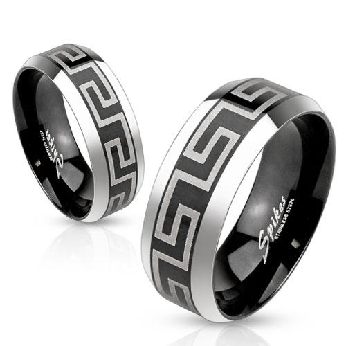 Snubní prsteny z chirurgické oceli R-M3651
