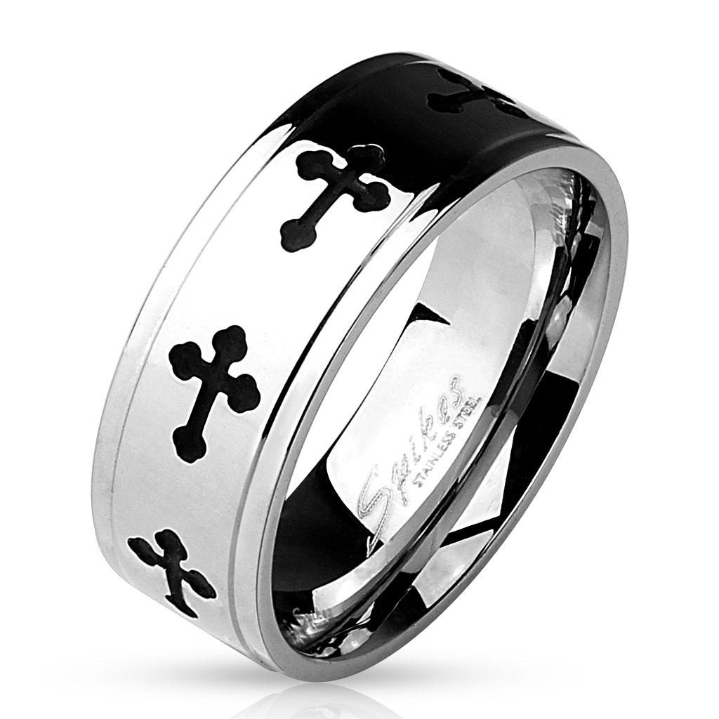 Prsten z chirurgické oceli R-M4816 (Dárkové balení zdarma)
