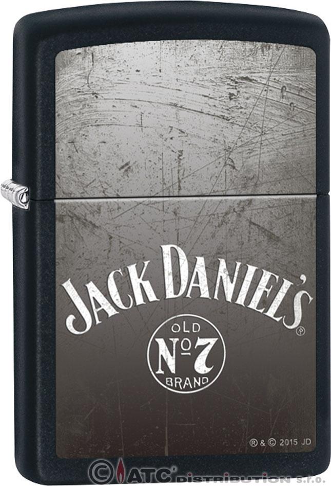 Zapalovač Zippo JACK DANIELS 26711 (Benzín Zdarma)