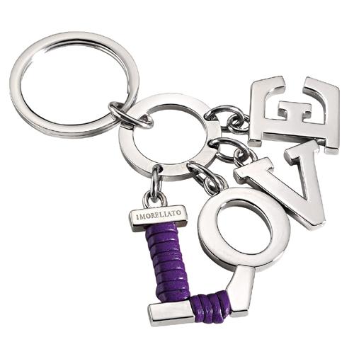 Přívěsek na klíče z chirurgické oceli Morellato SD3401 (Dárek -USB Flash disk 8 GB Zdarma)