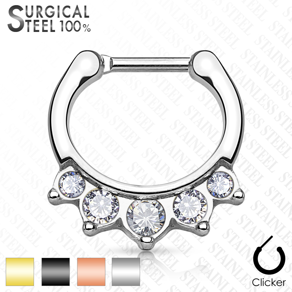 Piercing do nosu Septum SEPS-39