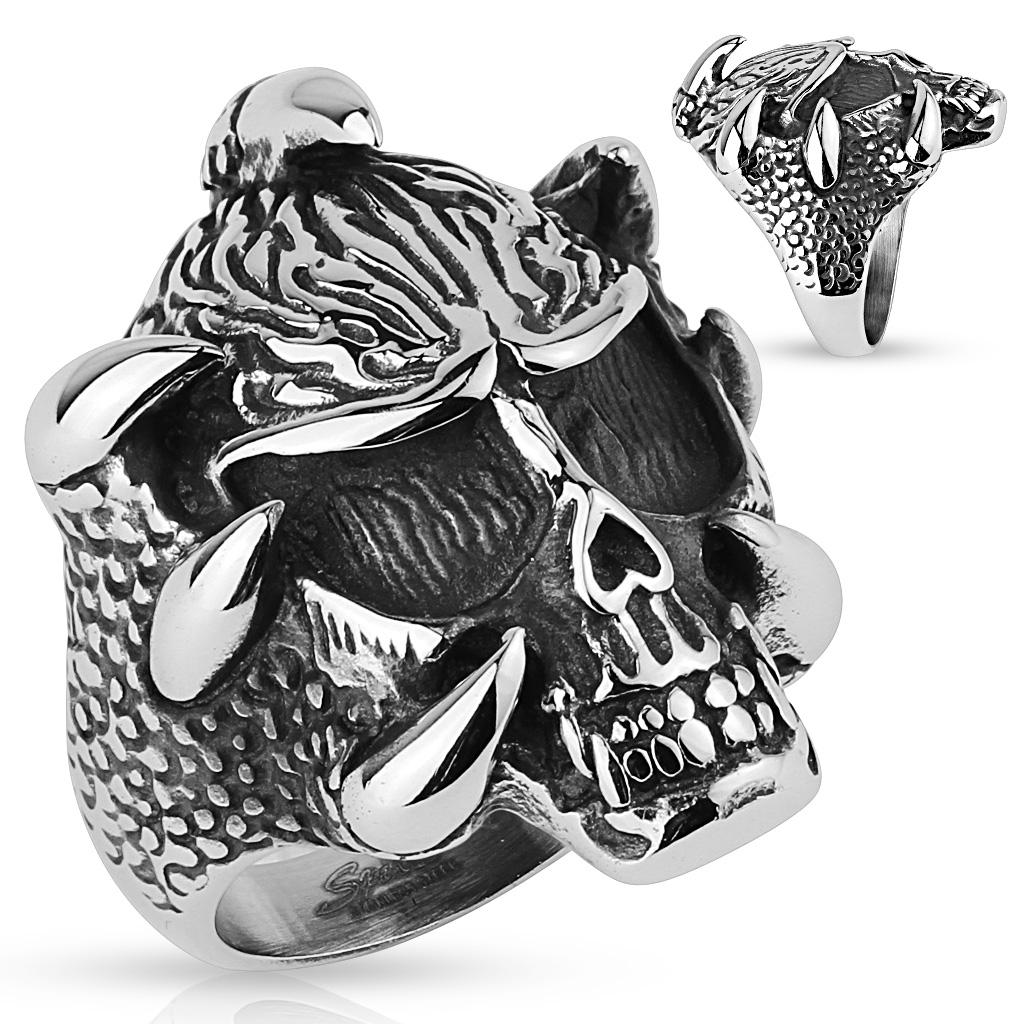 Prsten z chirurgické oceli (Dárkové balení zdarma)