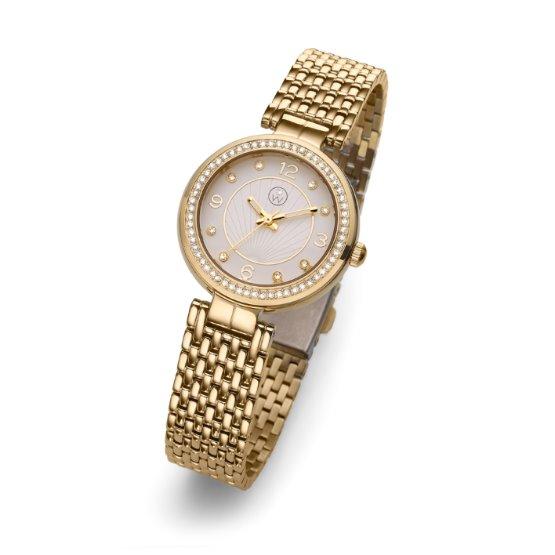 Dámské náramkové hodinky Oliver Weber Perugia - 65051 (gold)