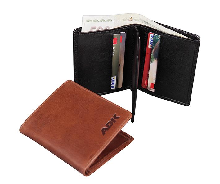 Pánská peněženka Bilbao černá DK-003