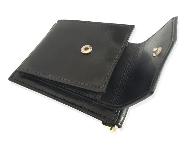 Peněženka s klipem a mincovníkem DK-040