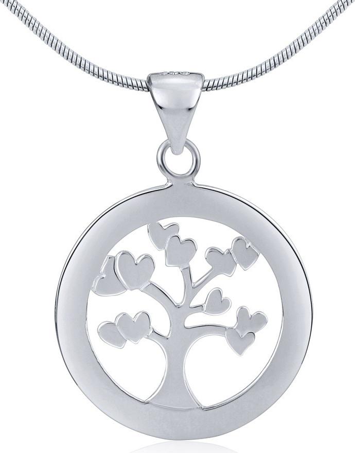 Stříbrný přívěsek strom - ZTJP54003