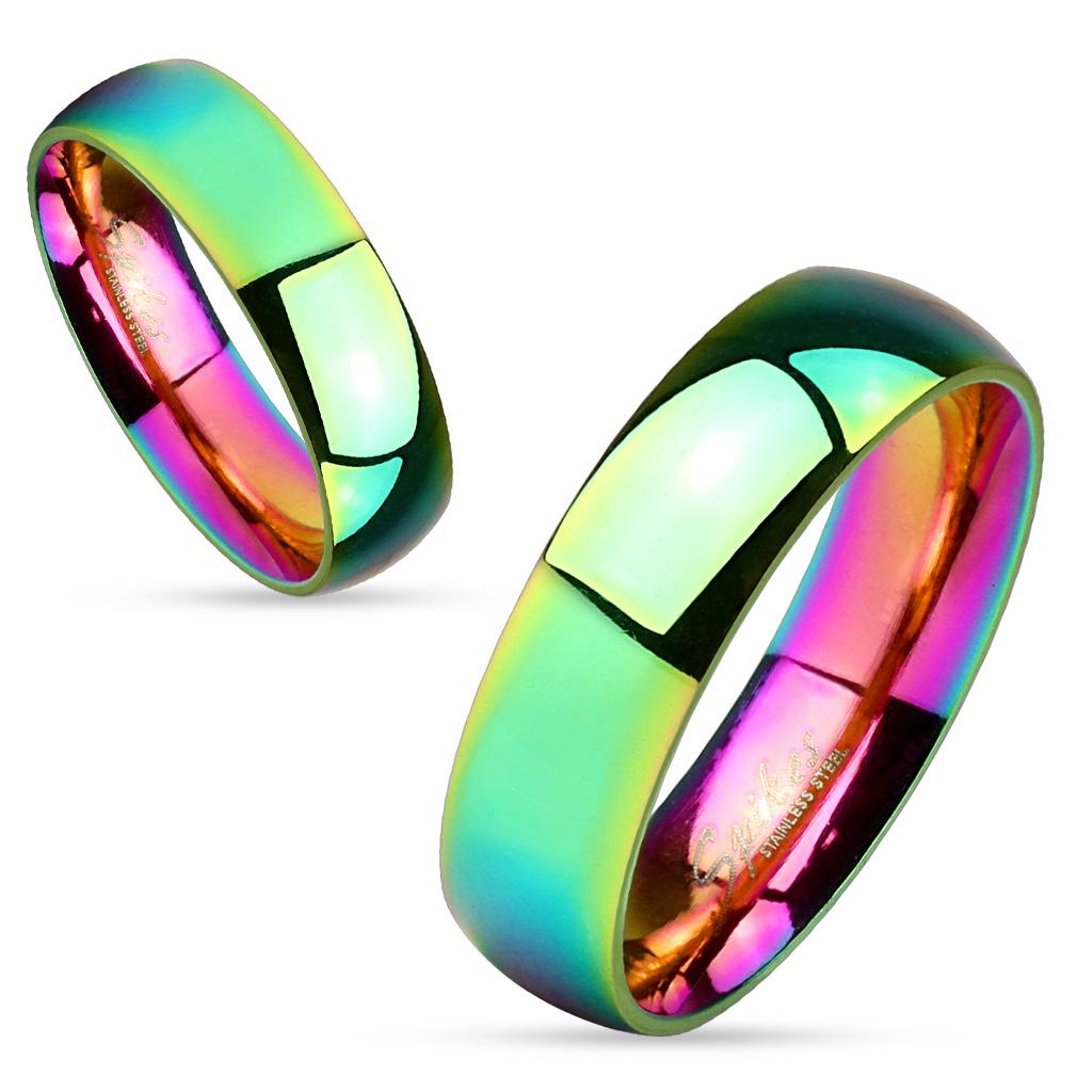 Snubní prsteny z chirurgické oceli R-M4326