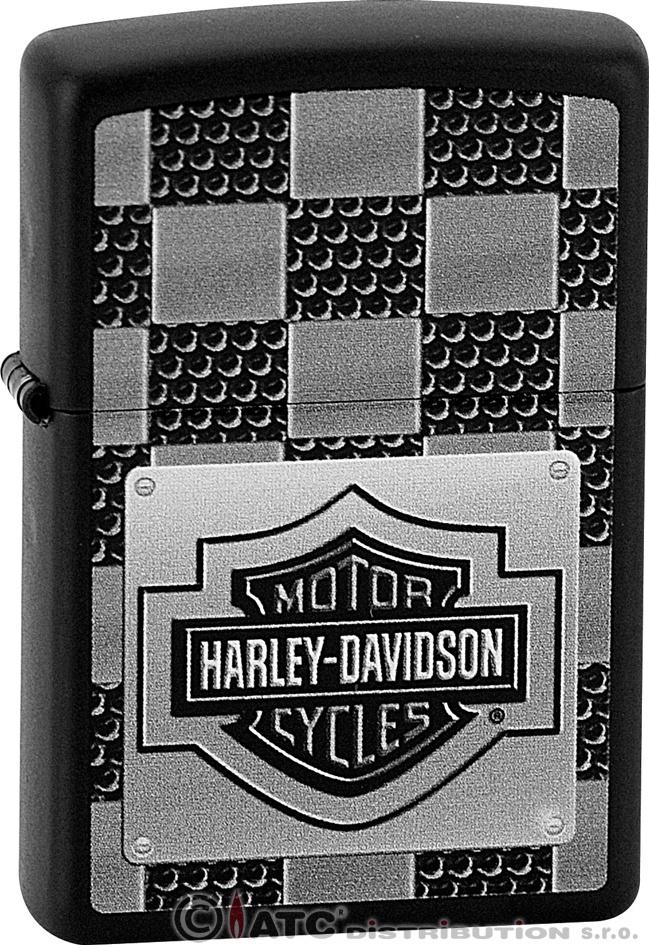 Zapalovač ZIPPO 26517 HARLEY DAVIDSON (Benzín zdarma)