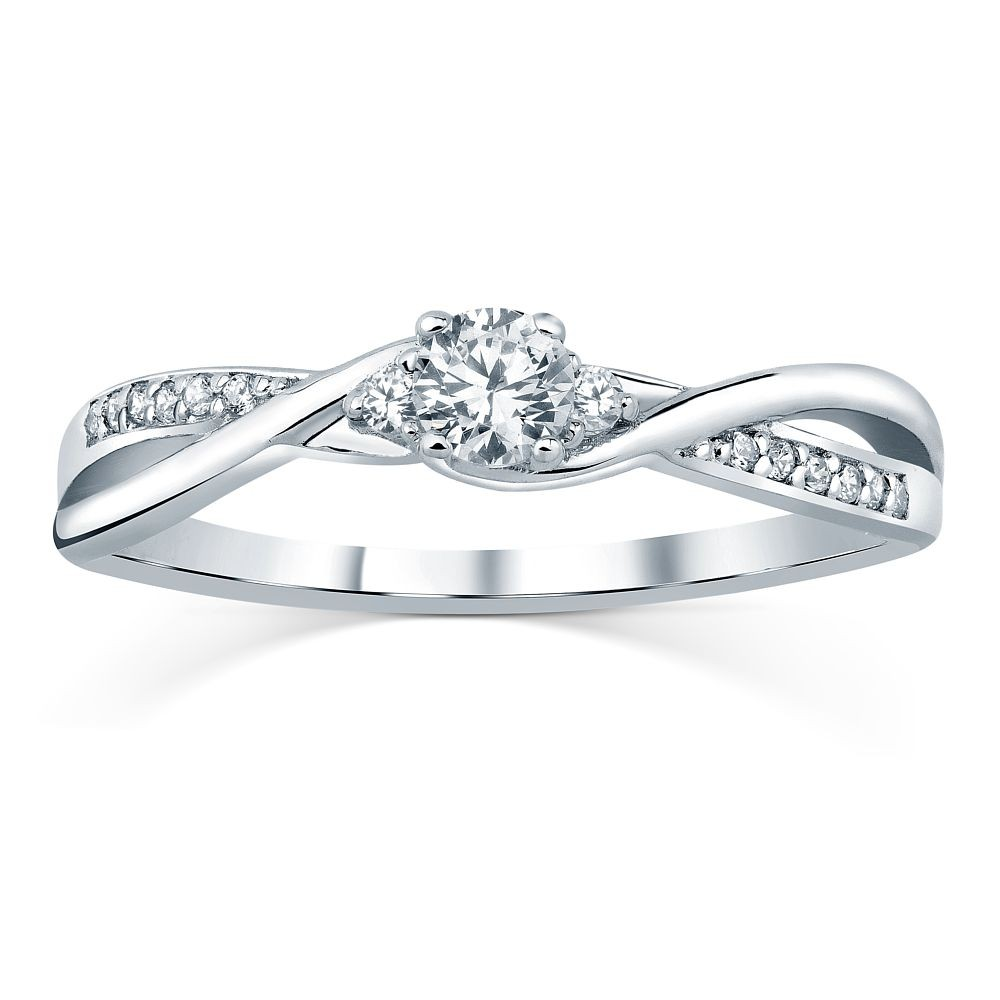 Silvego stříbrný prsten se Swarovski® Zirconia