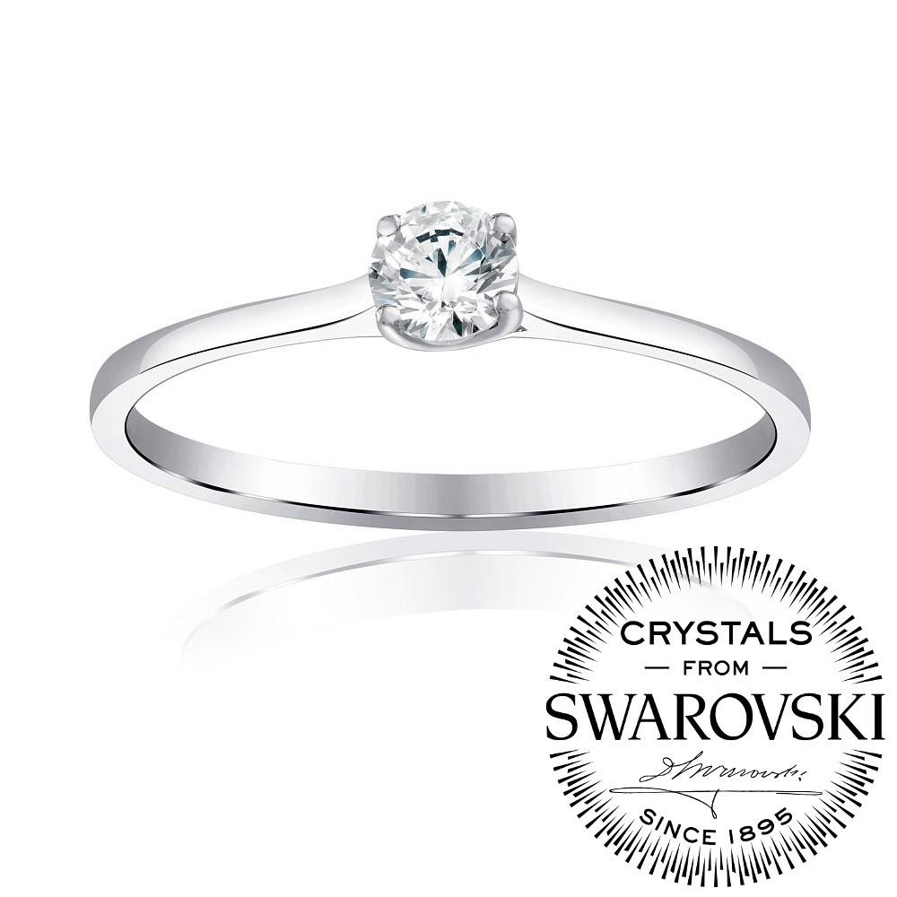 Silvego Princess stříbrný prsten se Swarovski® Zirconia