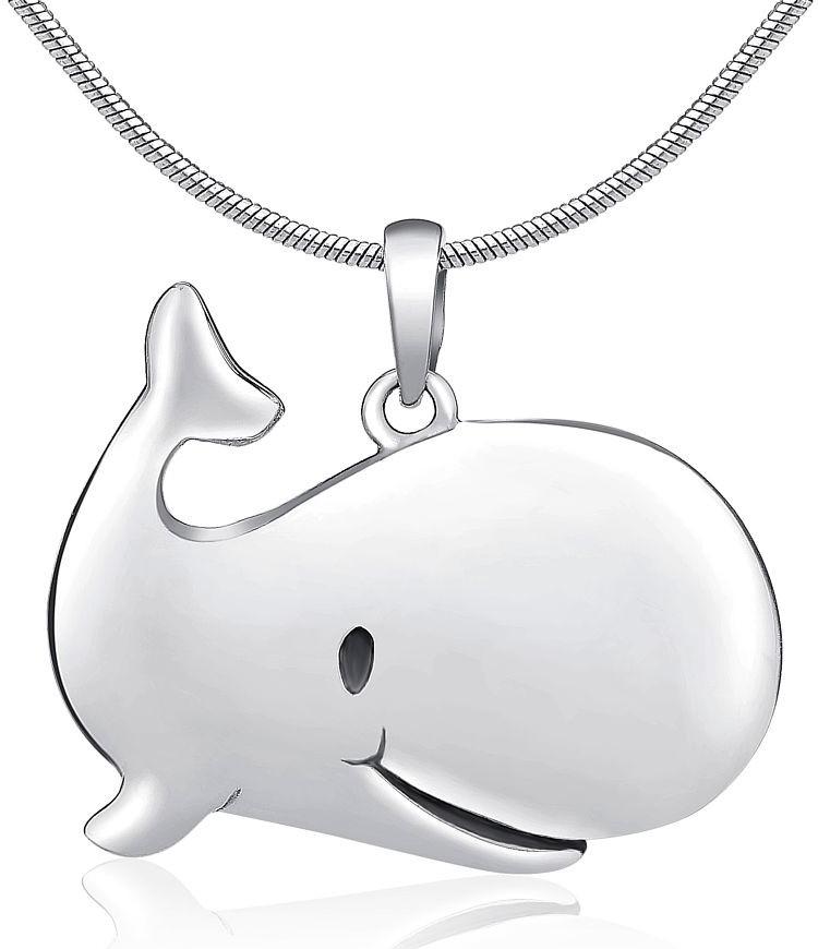 Stříbrný přívěsek velryba - PRMP14173