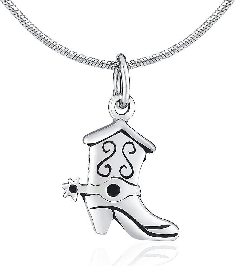 Stříbrný přívěsek kovbojská bota - PRMP12840