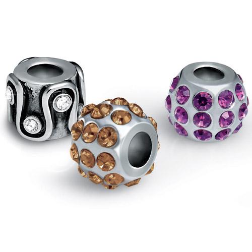 Přívěsek z chirurgické oceli Morellato Drops Crystals