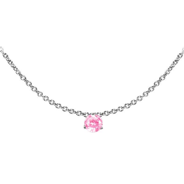 Náhrdelník NSSW01 rose s krystaly Swarovski Elements