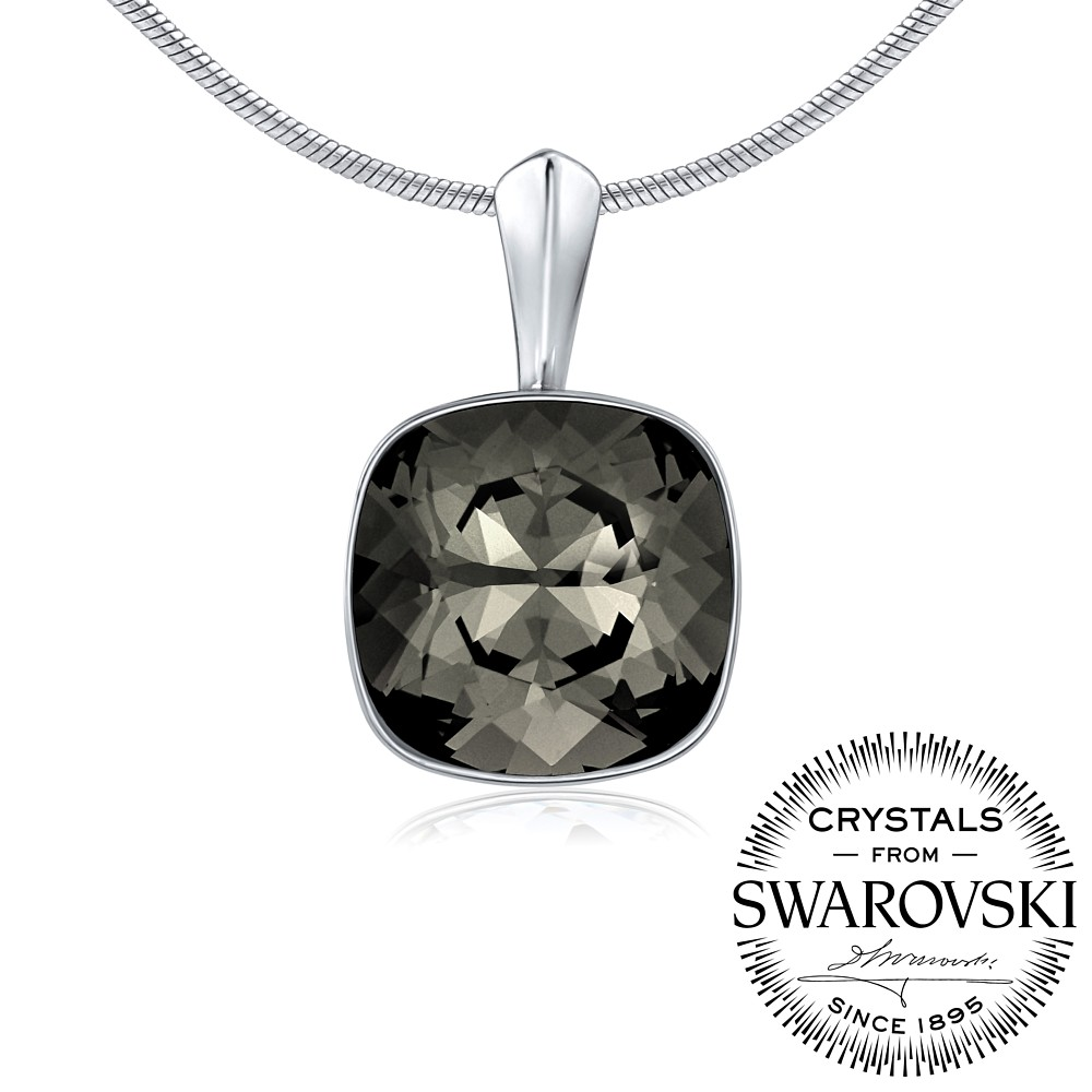 SILVEGO stříbrný přívěsek se Swarovski VSW049P