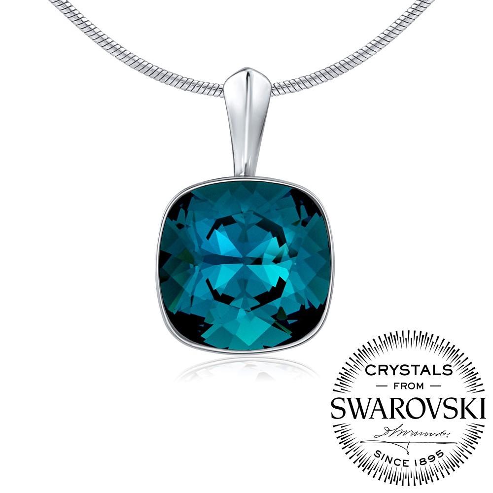 SILVEGO stříbrný přívěsek se Swarovski VSW048P