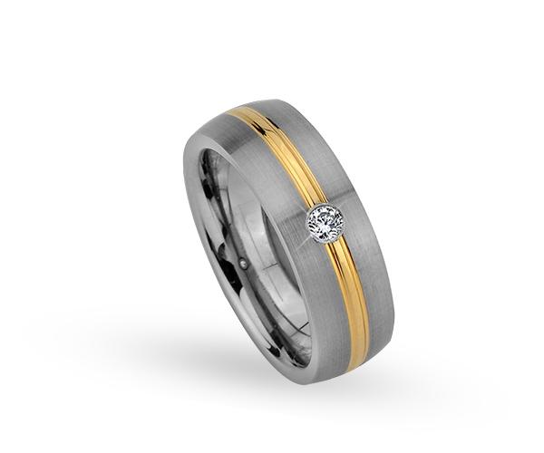 Wolframový prsten R-TW-003-1 (Akce)