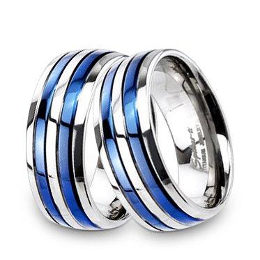 Snubní prsteny z chirurgické oceli R-TM-3184
