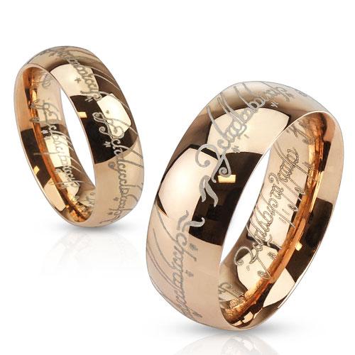 Levné Snubní prsteny z chirurgické ocel R-M3871