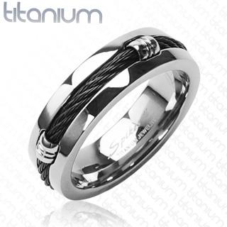 Titanový prsten 3087b (Titanový prsten 3087b)