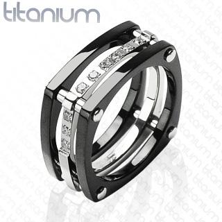 Titanový prsten 3039a (Titanový prsten 3039a)