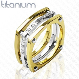 Titanový prsten 3039b2 (Titanový prsten 3039b2)