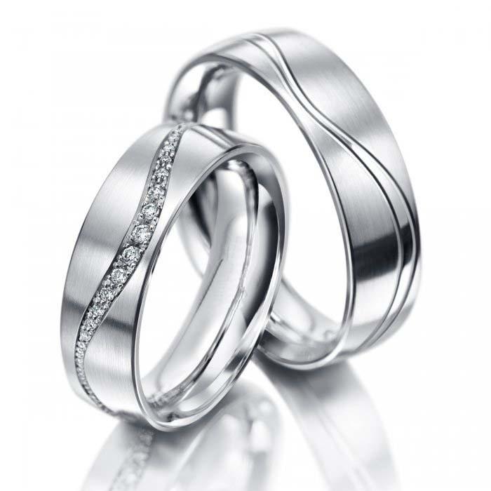 Snubní prsteny z chirurgické oceli OC1107