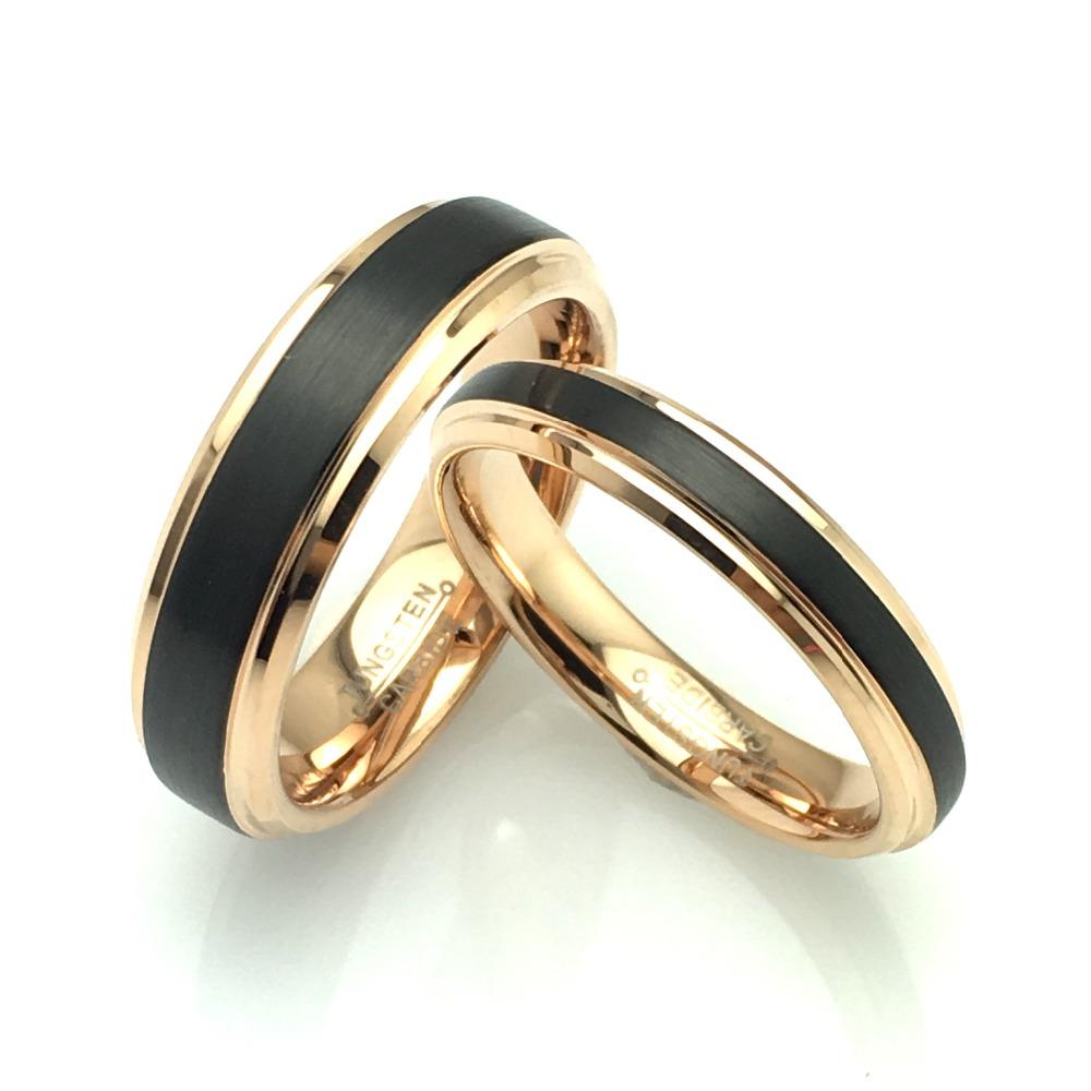 Wolframové snubní prsteny WRY-444