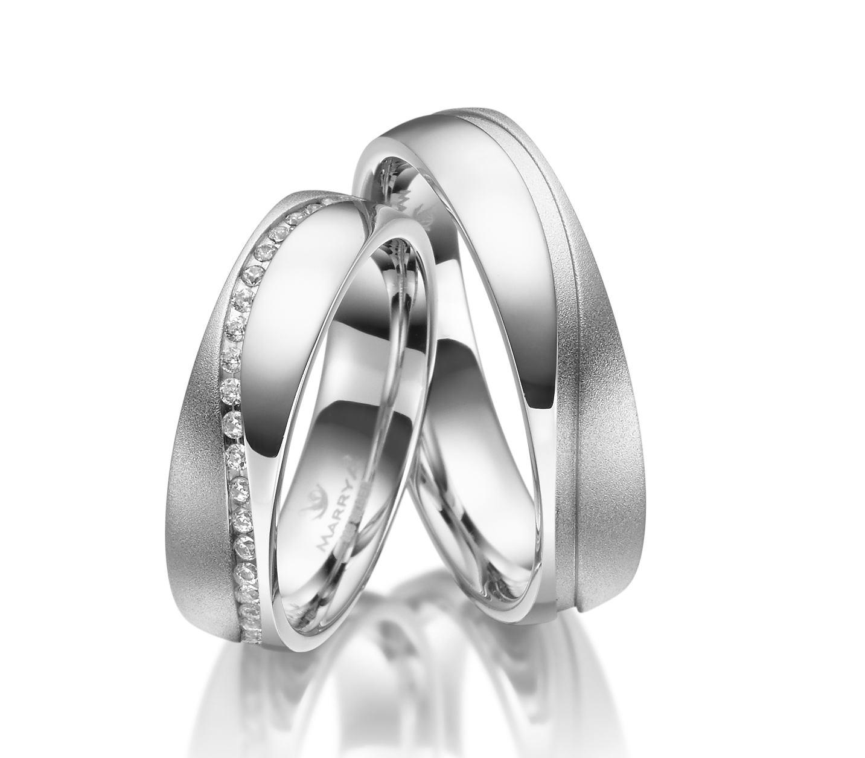 Stříbrné snubní prsteny SI-29