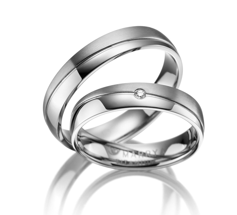 Titanové snubní prsteny TI-01