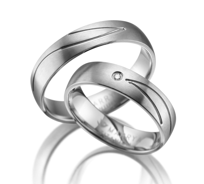 Titanové snubní prsteny TI-04