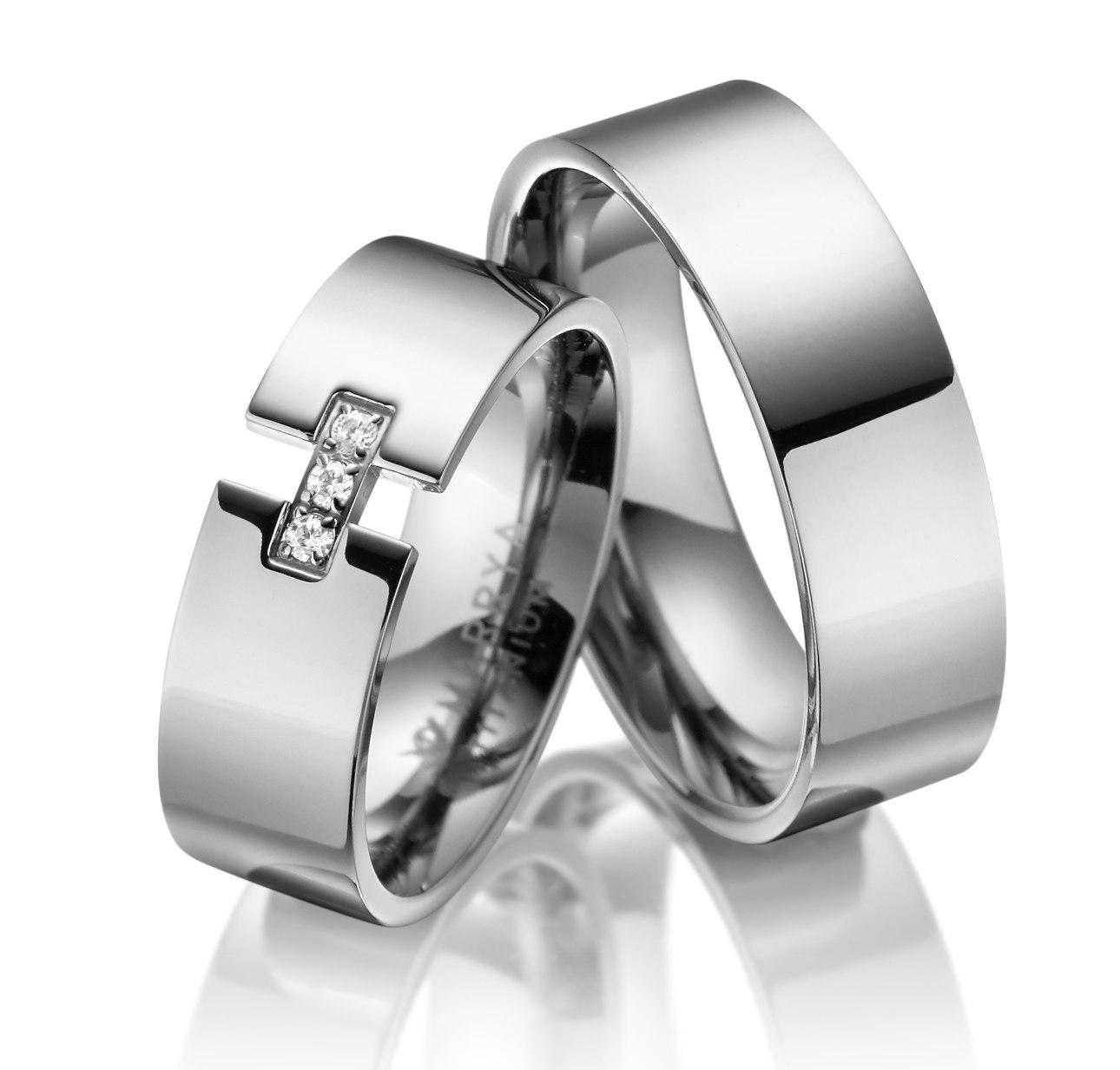 Titanové snubní prsteny TI-07