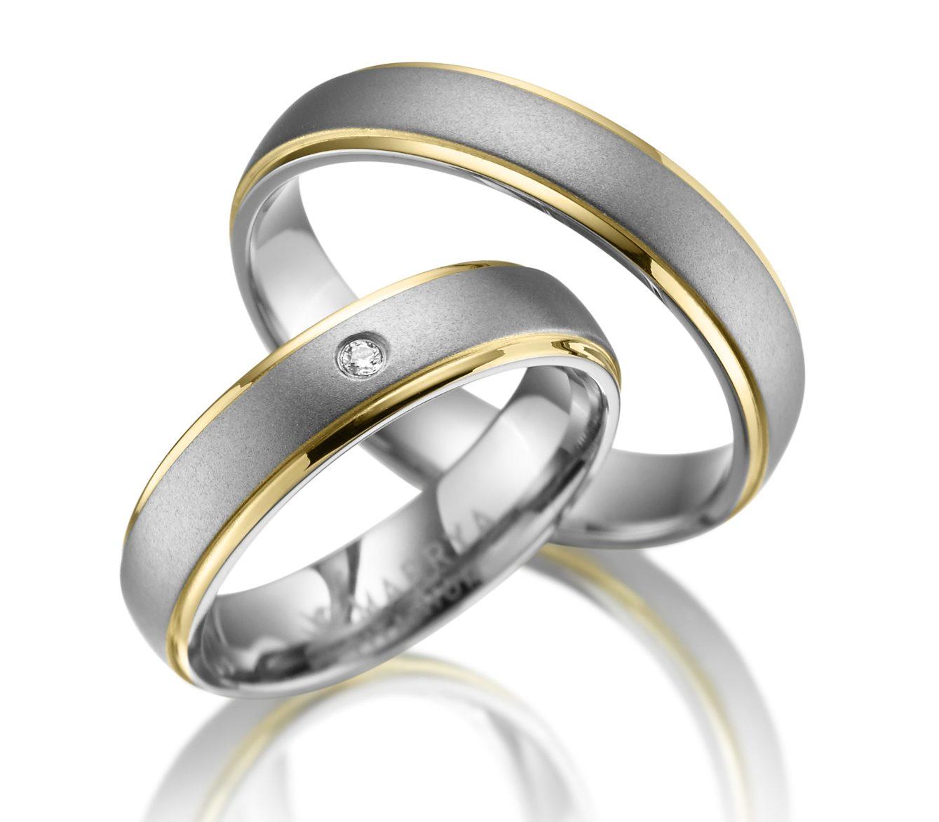 Titanové snubní prsteny TI-11