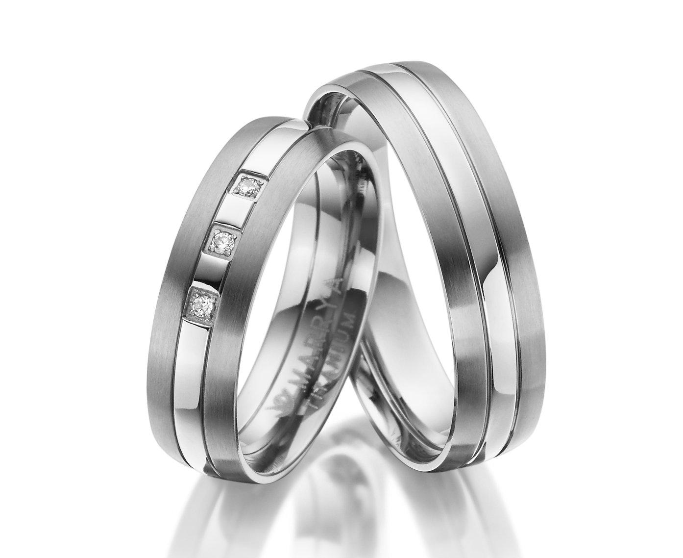 Titanové snubní prsteny TI-20