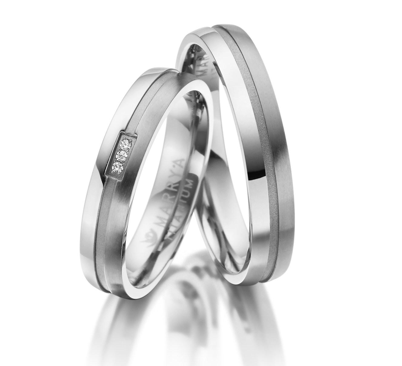 Titanové snubní prsteny TI-21