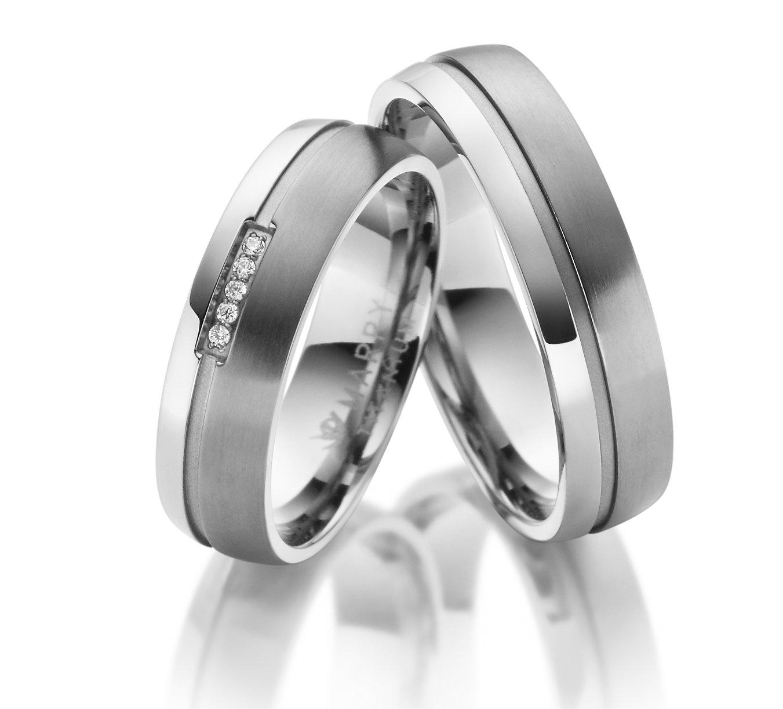 Titanové snubní prsteny TI-22