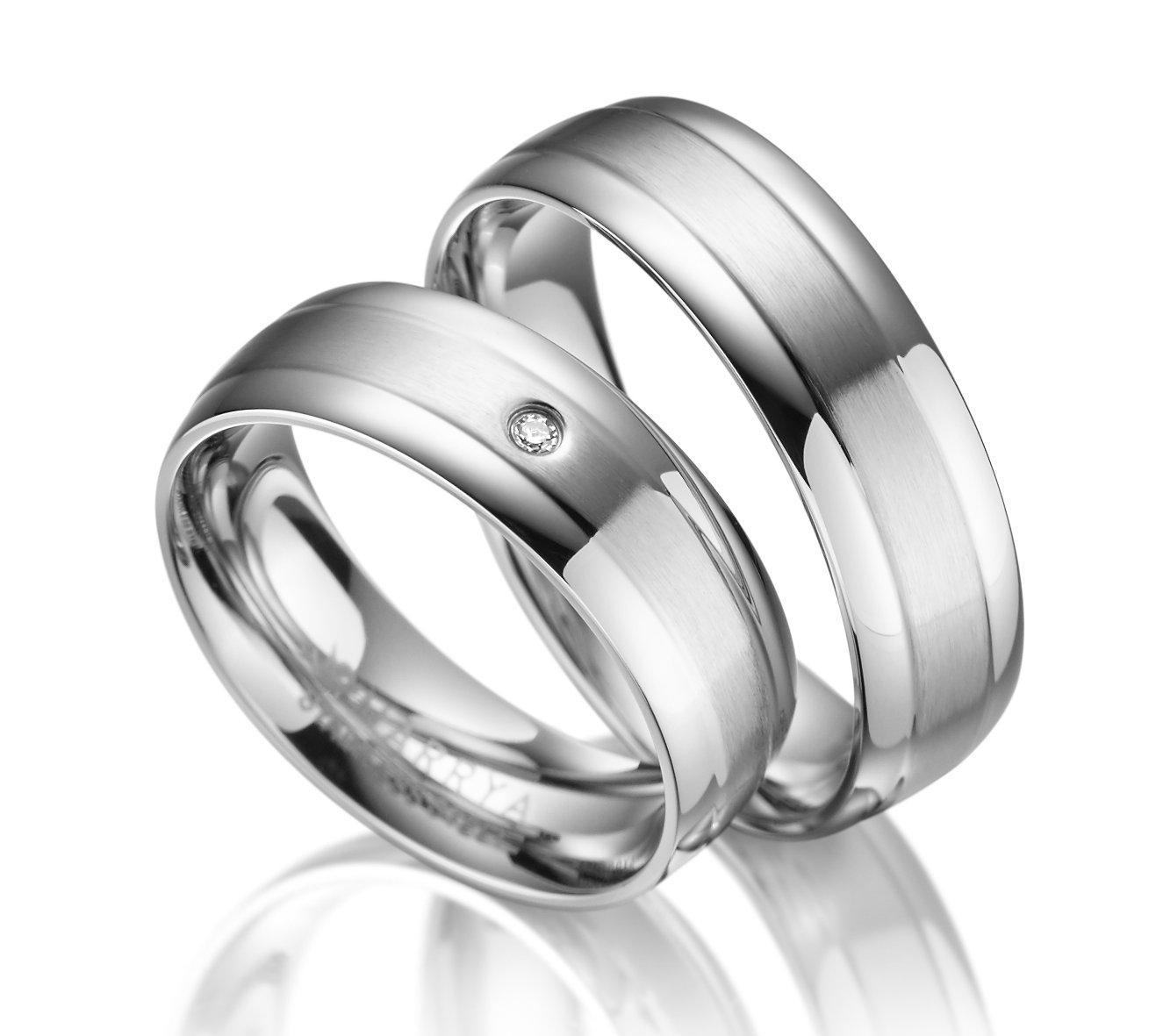 Snubní prsteny z chirurgické oceli ES-02