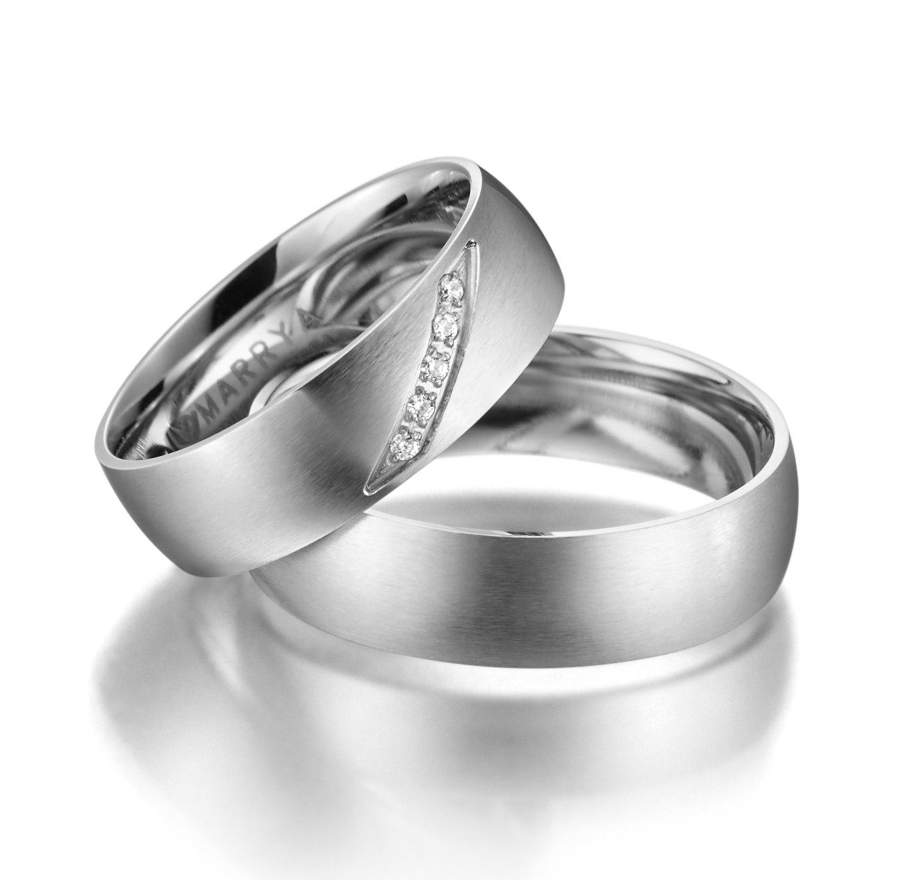 Snubní prsteny z chirurgické oceli ES-04