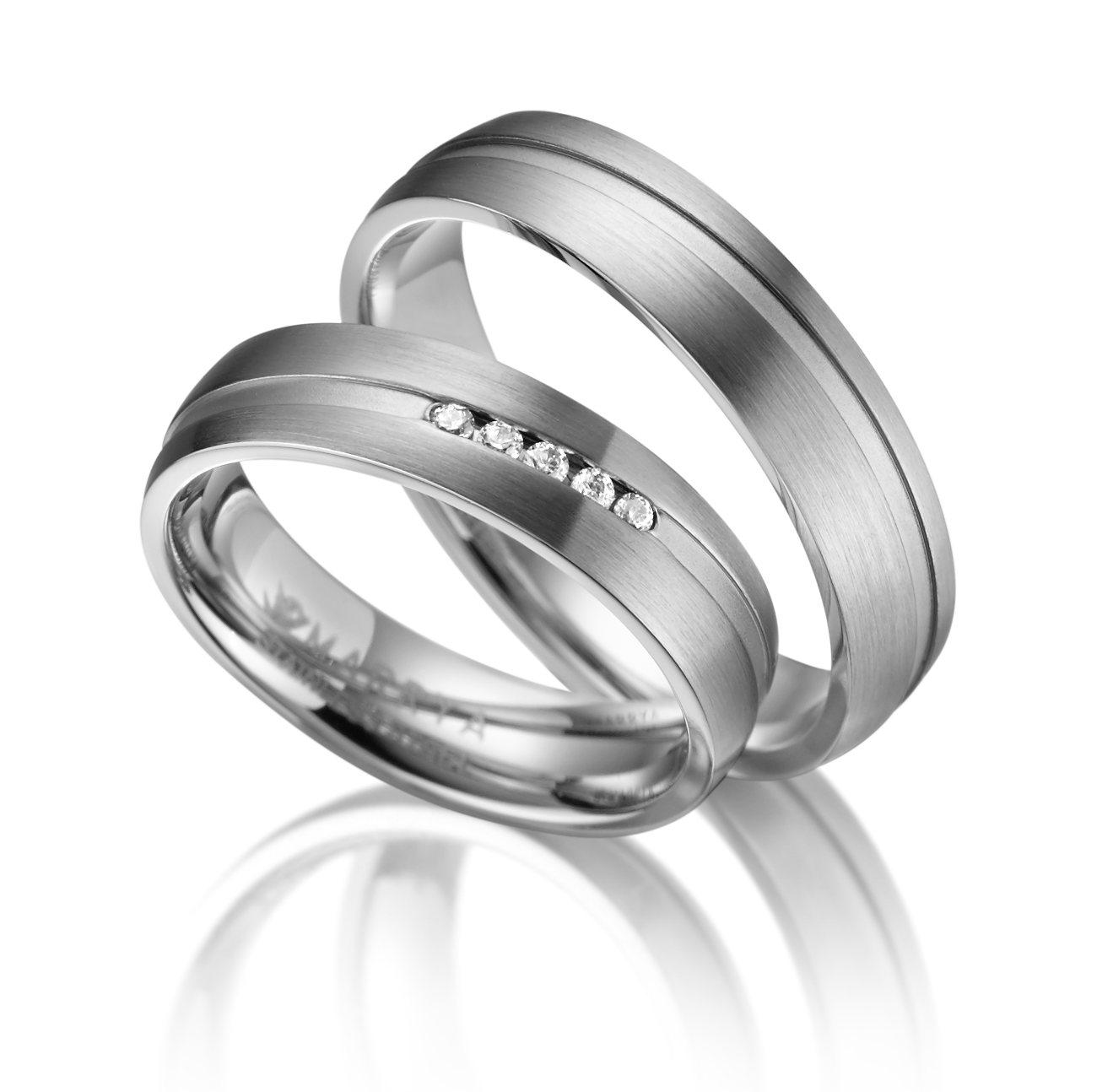 Snubní prsteny chirurgická ocel ES-07