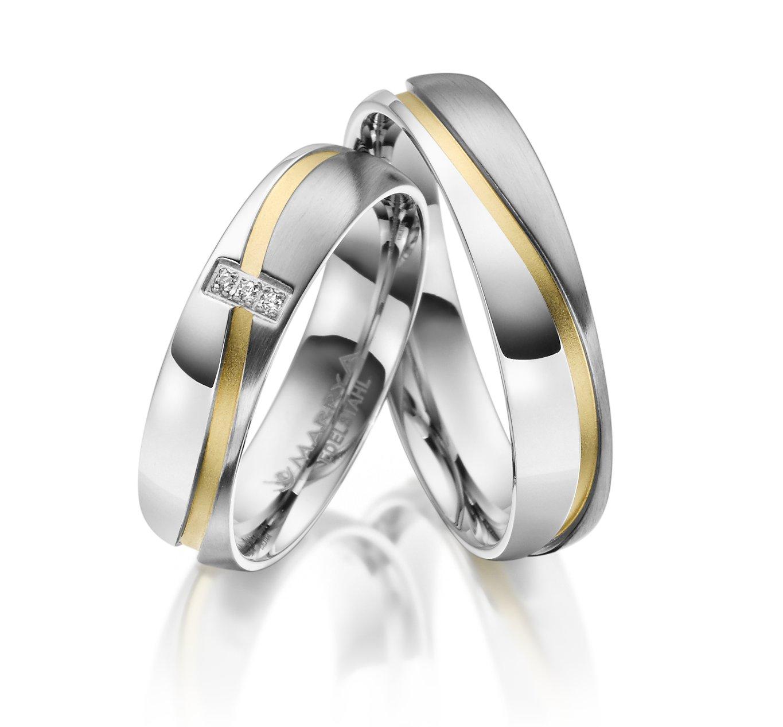 Snubní prsteny chirurgická ocel ES-15