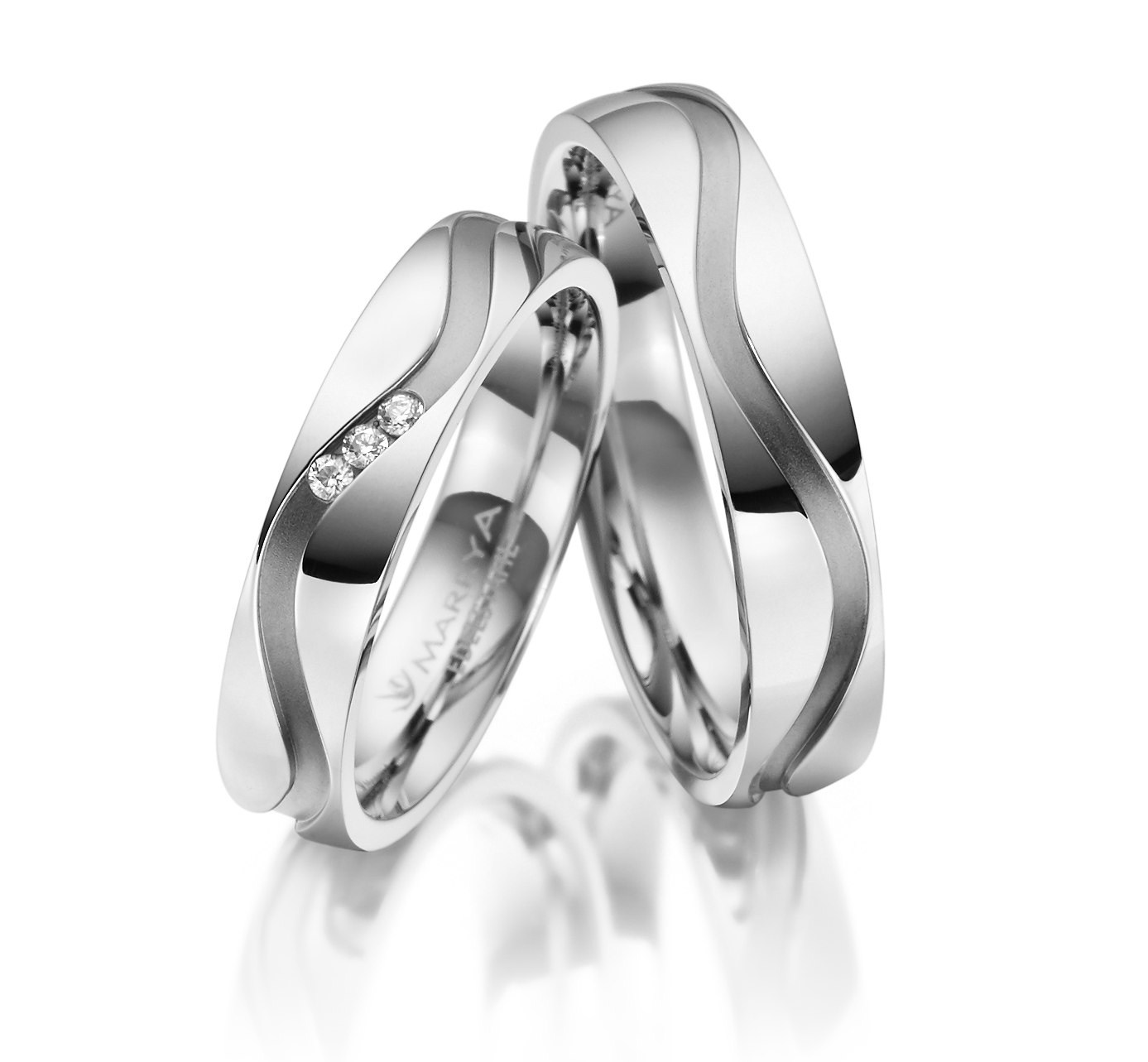 Snubní prsteny z chirurgické oceli ES-16