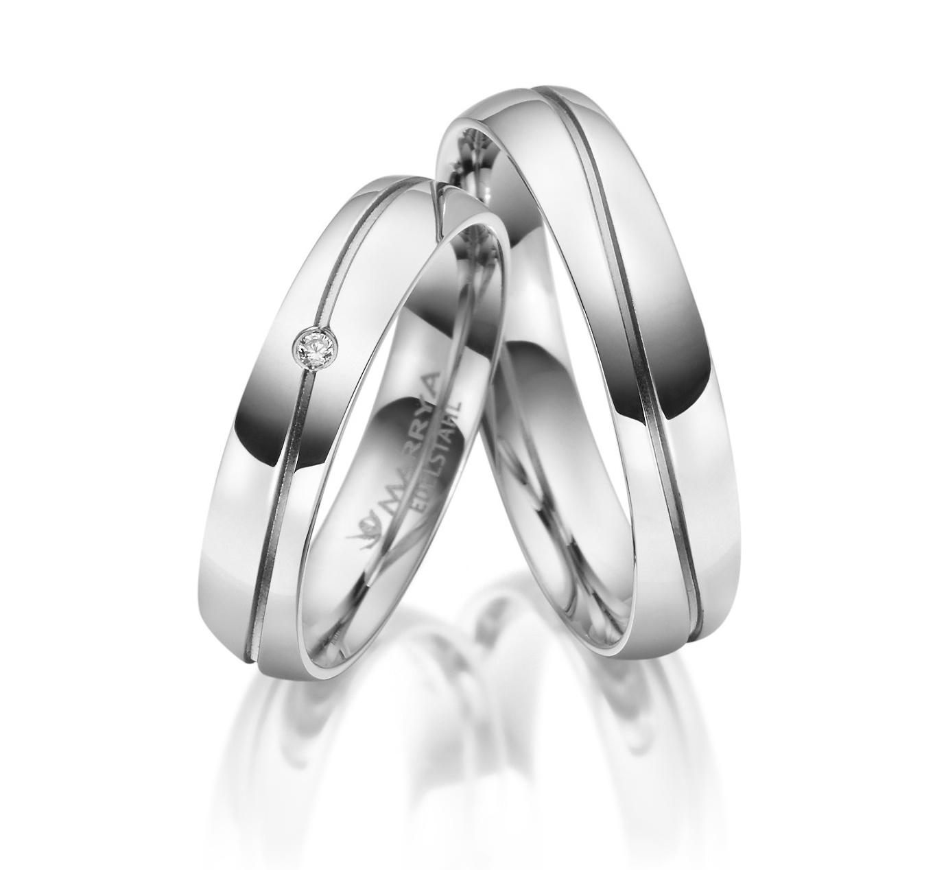Snubní prsteny chirurgická ocel ES-17