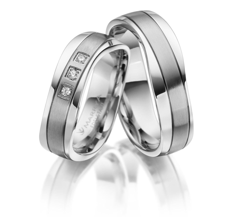 Snubní prsteny z chirurgické oceli ES-18