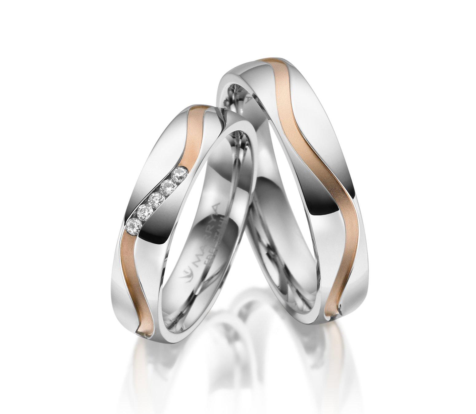 Snubní prsteny chirurgická ocel ES-19